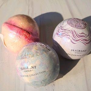 Fragrant jewels bath bomb trio
